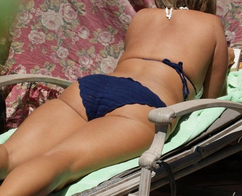 Bikini milf nude-7185