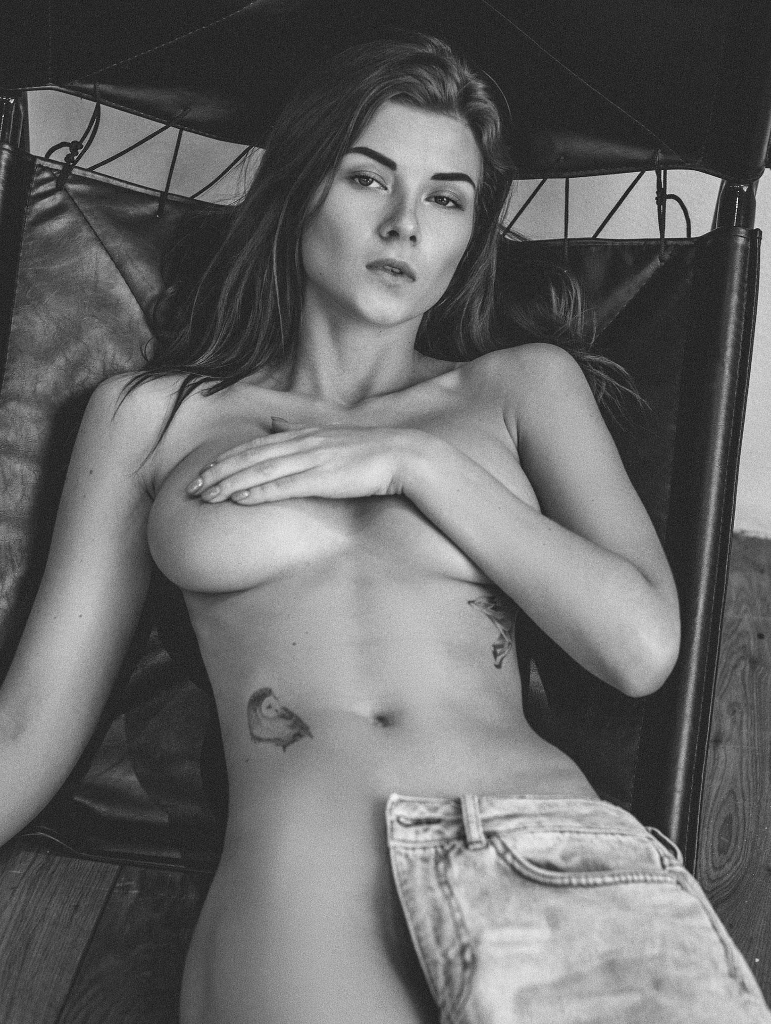 Девушка с оригинальным тату - Инга Лис / Inga Lis by Vladimir Shalyapin