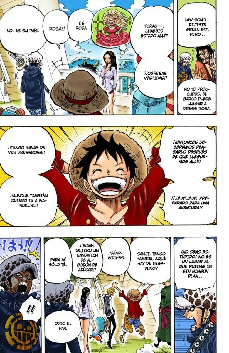One Piece Manga 700-701 [Full Color] [Dressrosa] O9c6549Y_o