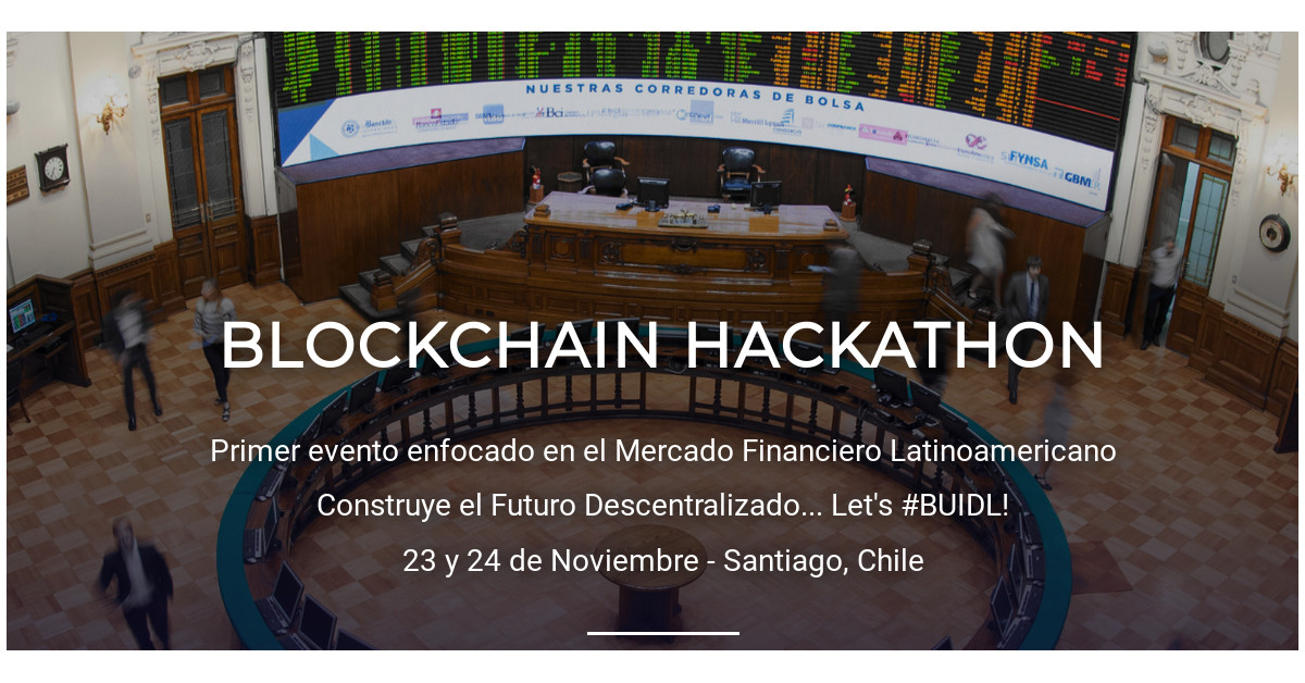 How did they give us the first place in the Hackathon Blockchain Summit Latam 2018?