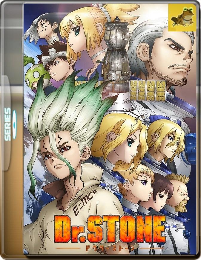 Dr. Stone (2019) Brrip 1080p (60 FPS) Latino / Japonés
