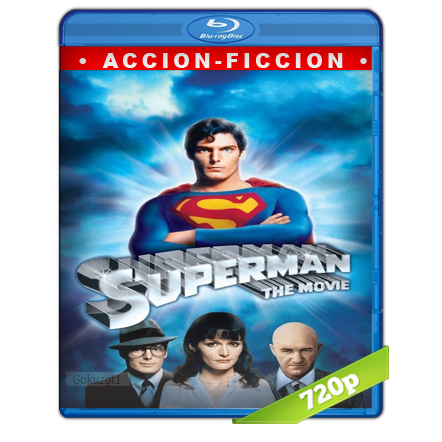 descargar Superman 1 La Pelicula 720p Lat-Cast-Ing 5.1 (1978) gratis