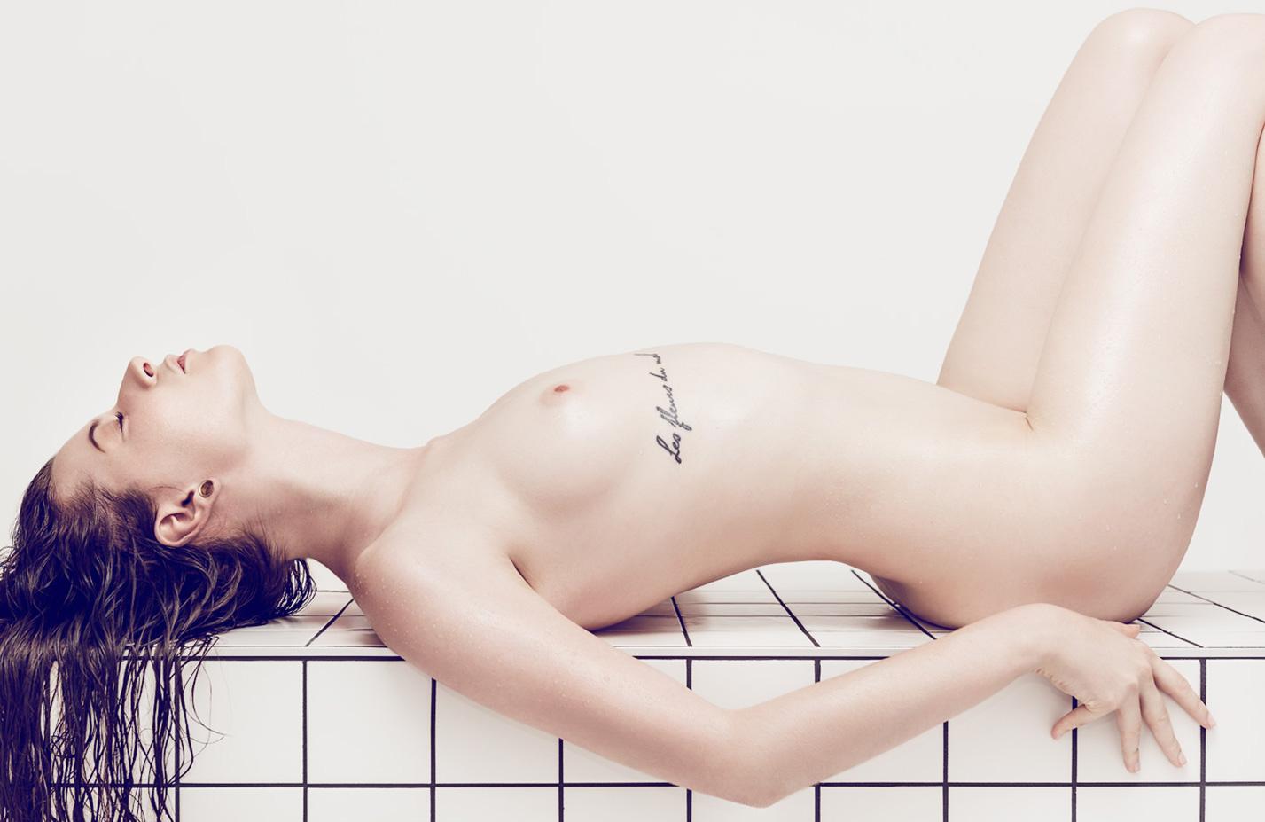 Ines Krueger nude by Marcel Kultscher