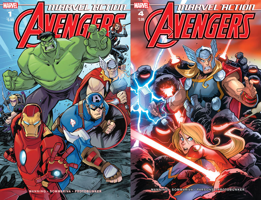Marvel Action Avengers #1-8 (2018-2019)