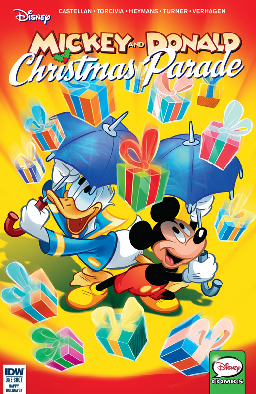 Mickey and Donald Christmas Parade #1-5 (2015-2019)