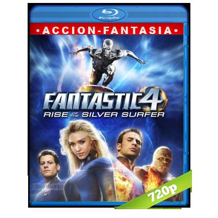 descargar Los 4 Fantasticos 2 Y El Deslizador De Plata 720p Lat-Cast-Ing[Fantasia](2007) gratis