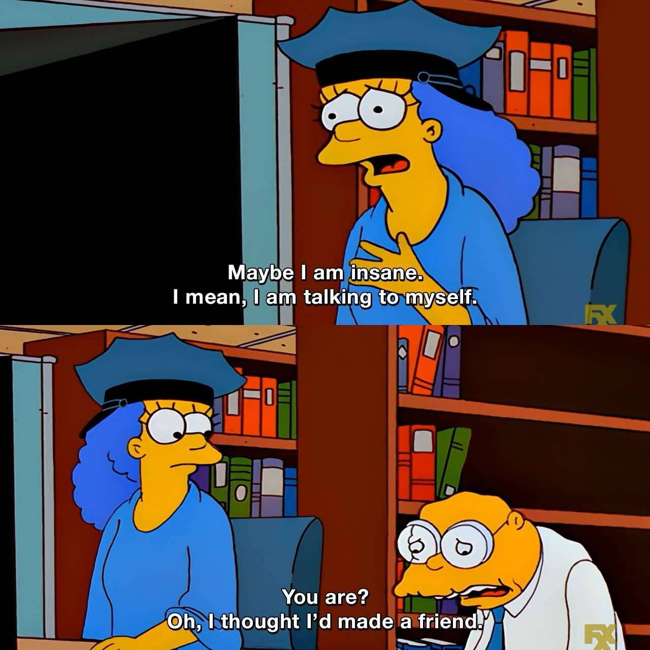 28 the simpsons funny captions memes quotes 17