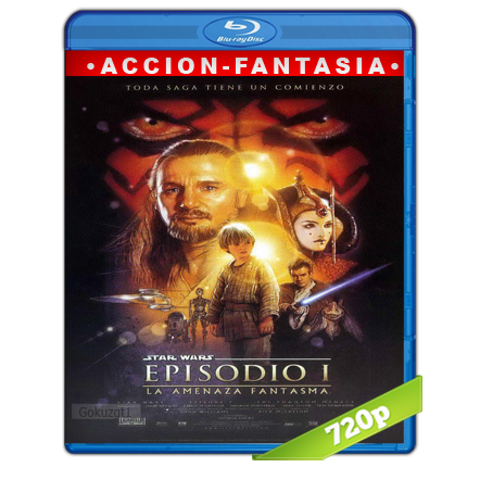 descargar Star Wars Episodio I 720p Lat-Cast-Ing 5.1 (1999) gratis
