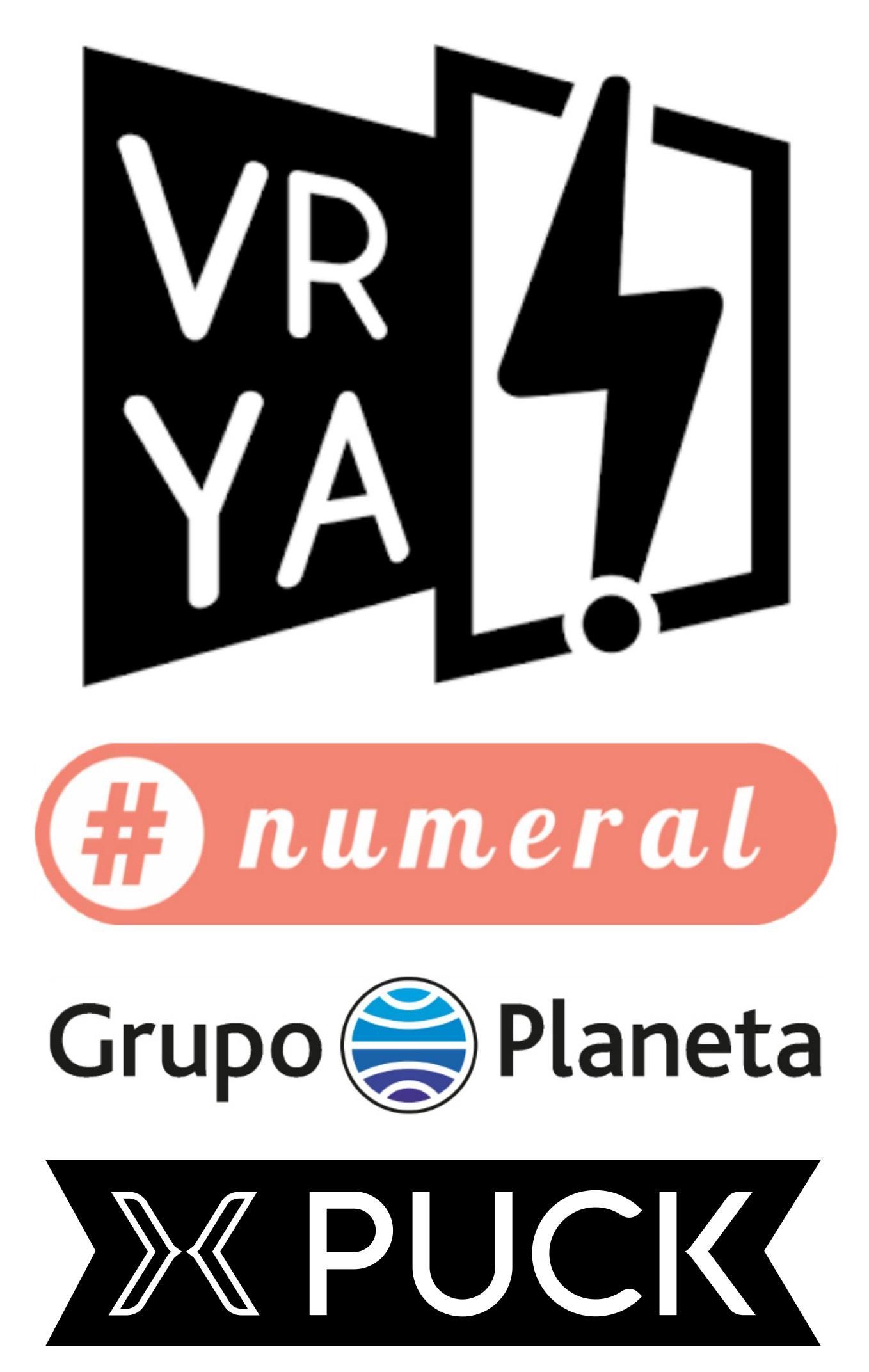 Gracias VRYA, #numeral, Planeta, Puck y PRH