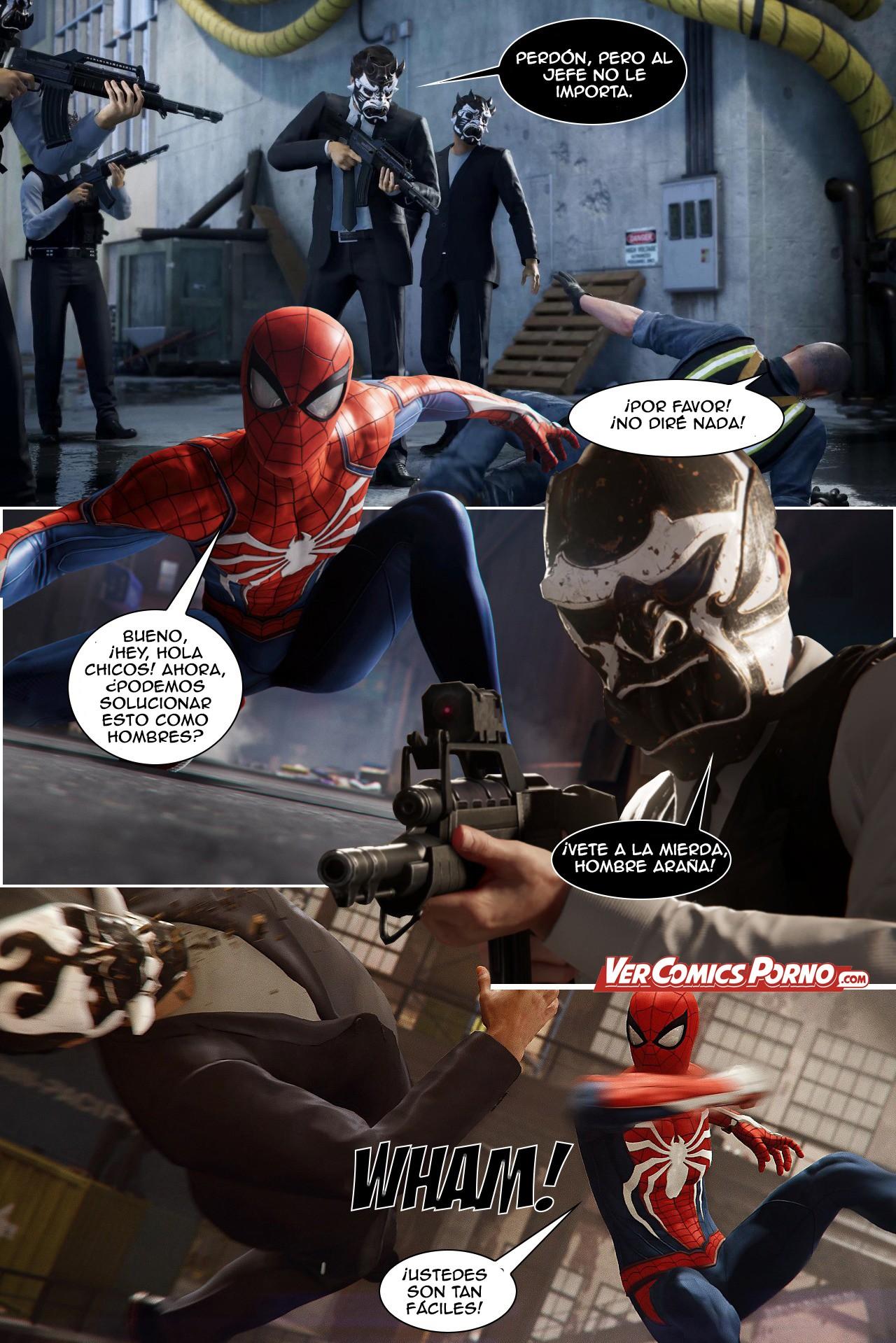 ver sexos de spiderman