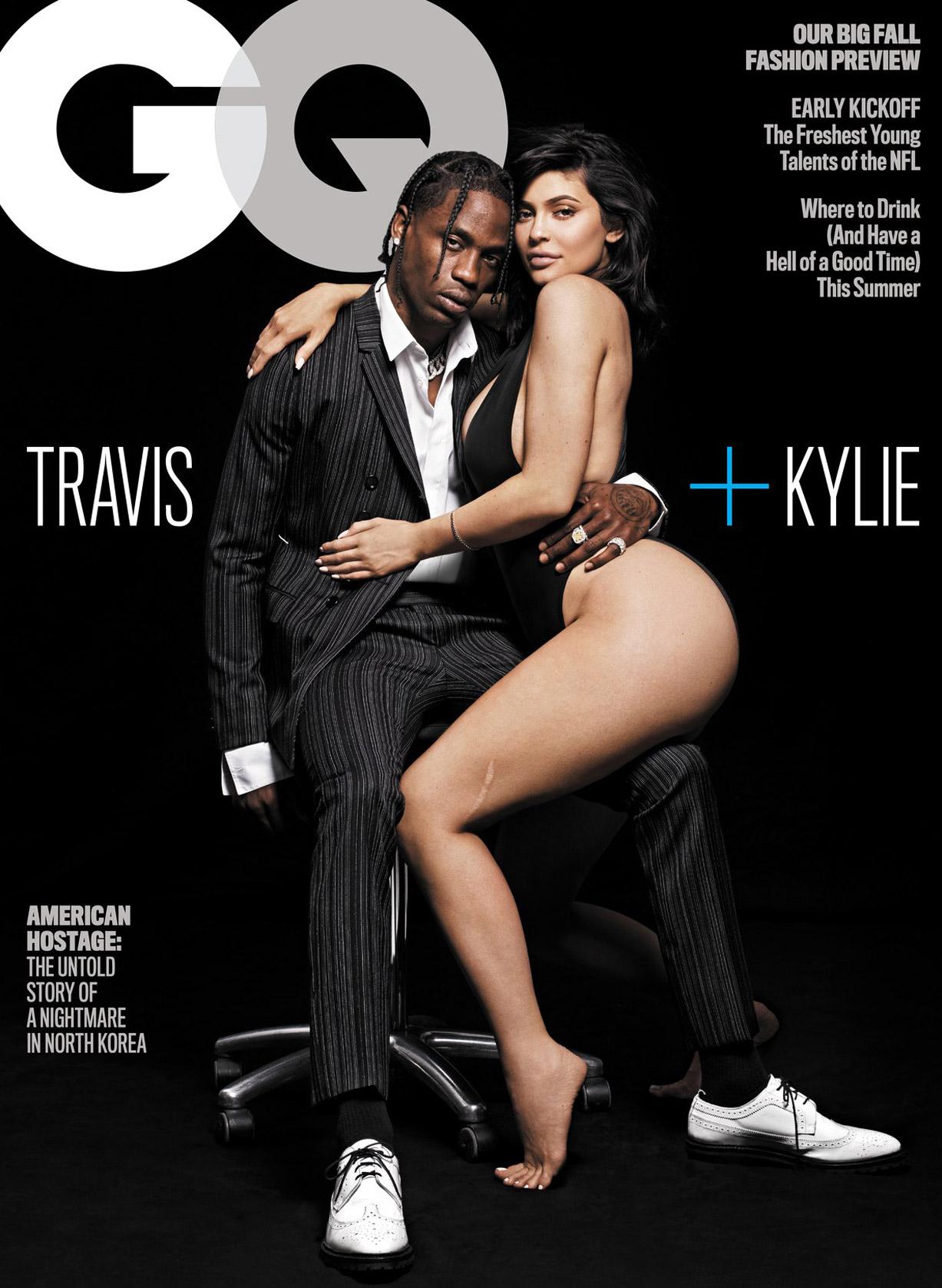 Modern Family / Kylie Jenner and Travis Scott by Paola Kudacki / GQ USA august 2018
