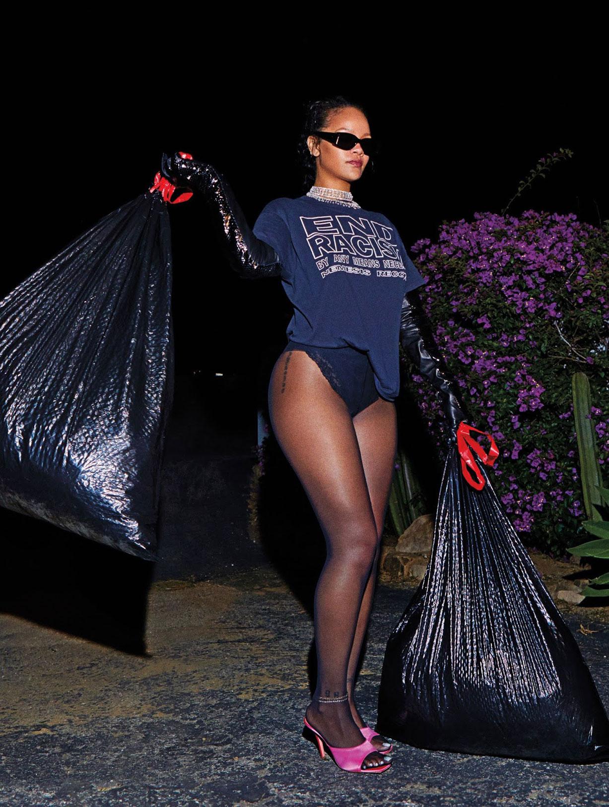 Рианна в журнале Harpers Bazaar, сентябрь 2020 / фото 15
