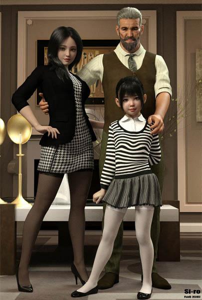 Si-ro premium works (uncen) - The family (comic, full)