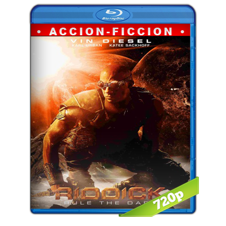 descargar Riddick El Amo De La Oscuridad [m720p][Trial Lat/Cas/Ing][Ficcion](2013) gratis