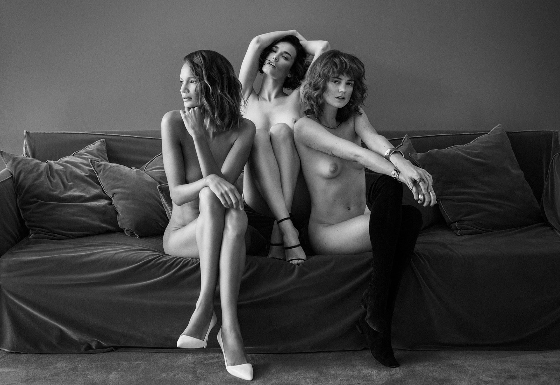Chelsea Bailey, Andrea Abrego, Aileen Loquet / фото 01