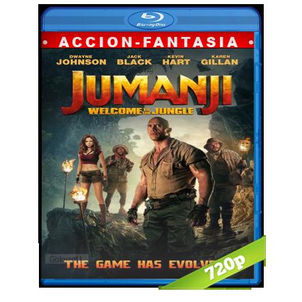 Jumanji En La Selva [m720p][Trial Lat/Cas/Ing][Fantastico](2017)