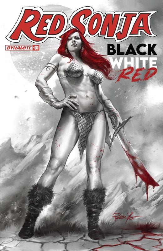 Red Sonja Black White Red #1-3 (2021)