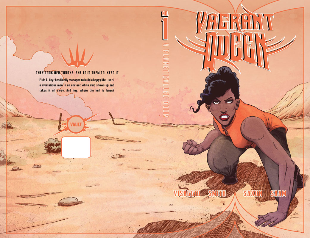 Vagrant Queen - A Planet Called Doom #1-5 (2020)