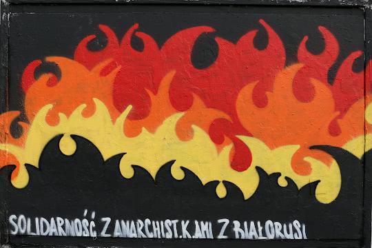 Solidarność z anarchistami z Białorusi