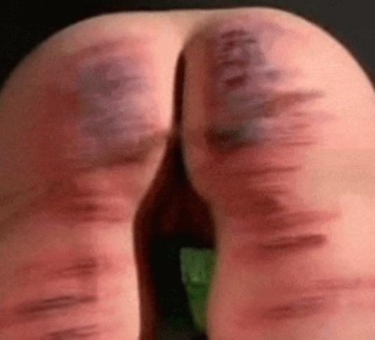 Brutal spanking anal-9946