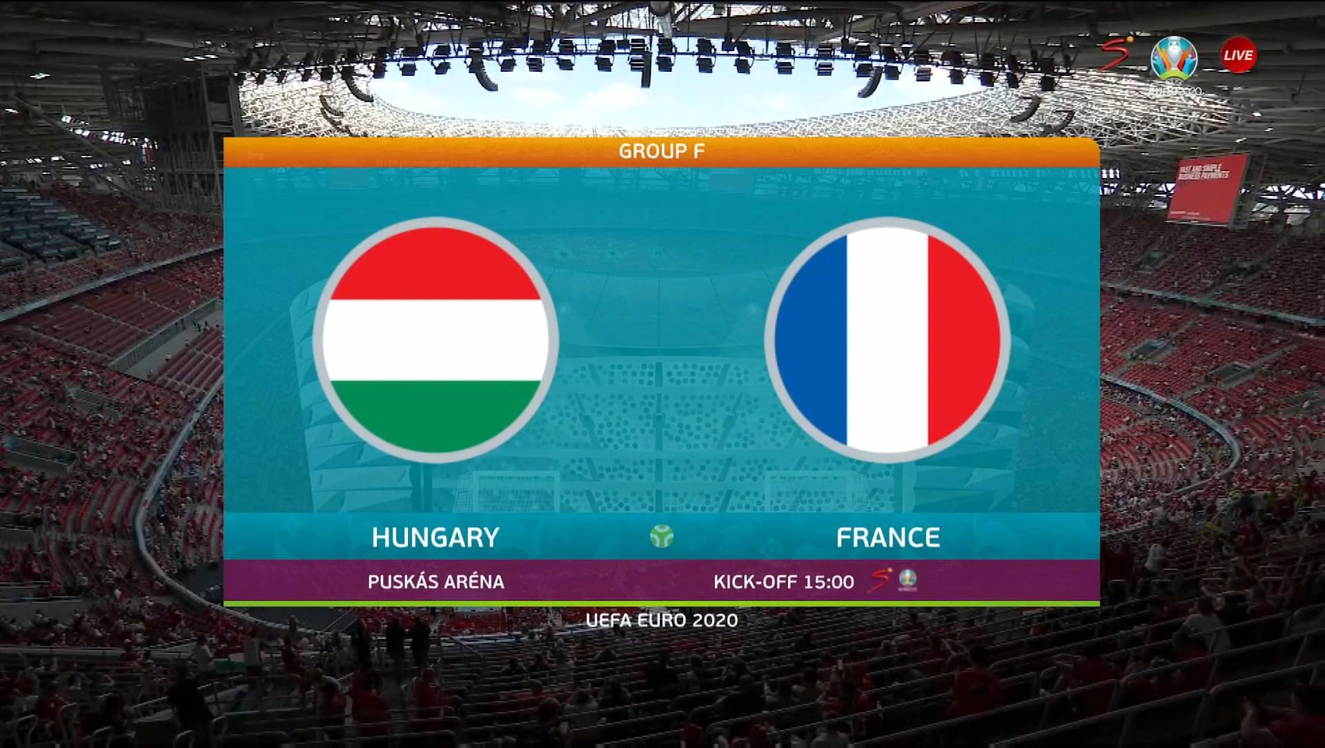 Full match: Hungary vs France