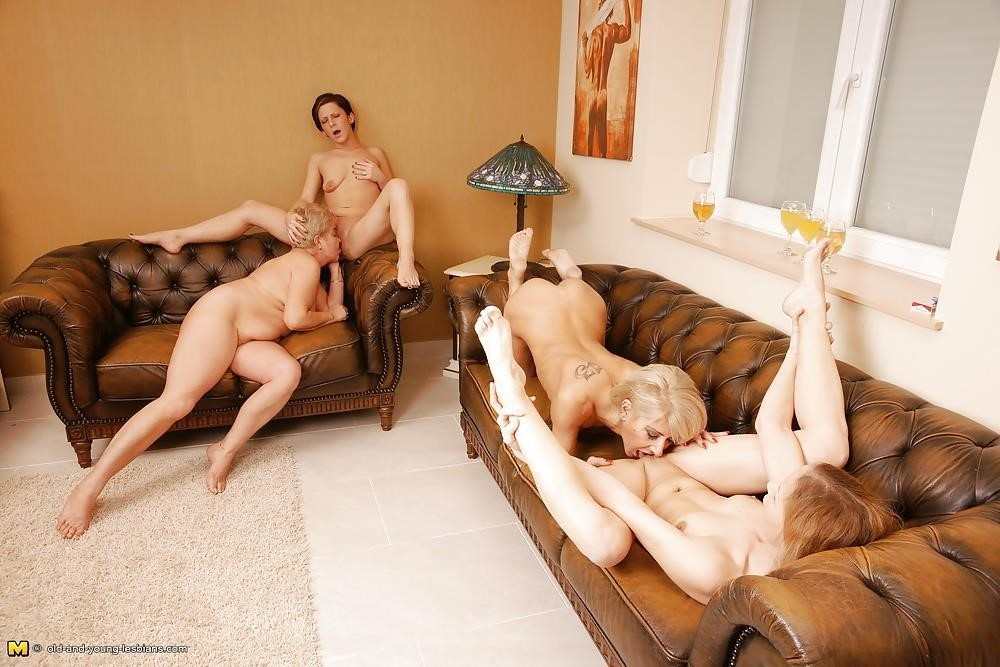 Group sex with old women-9003