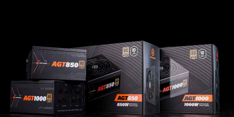 ARESGAME Supplies Quality and Highly Liked Gaming Full Modular Power Supplies for Excellent Gaming and Higher-Performance of Gaming Computer Systems