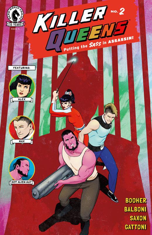 Killer Queens #1-3 (2021)