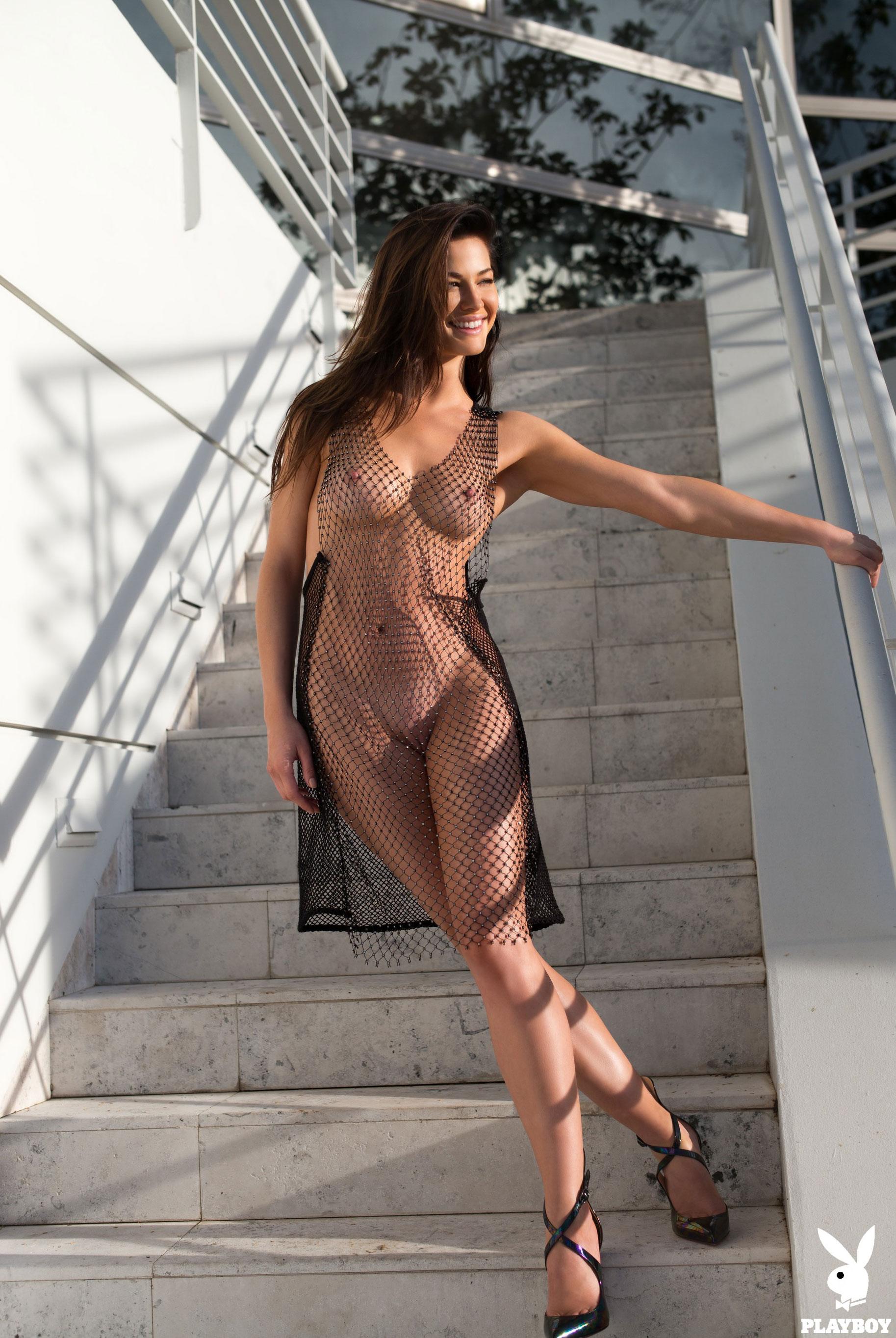 Девушка месяца Jenny Watwood / Playboy США, март 2018 / фото 02