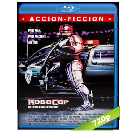 descargar RoboCop 720p Lat-Cast-Ing[Acción](1987) gratis