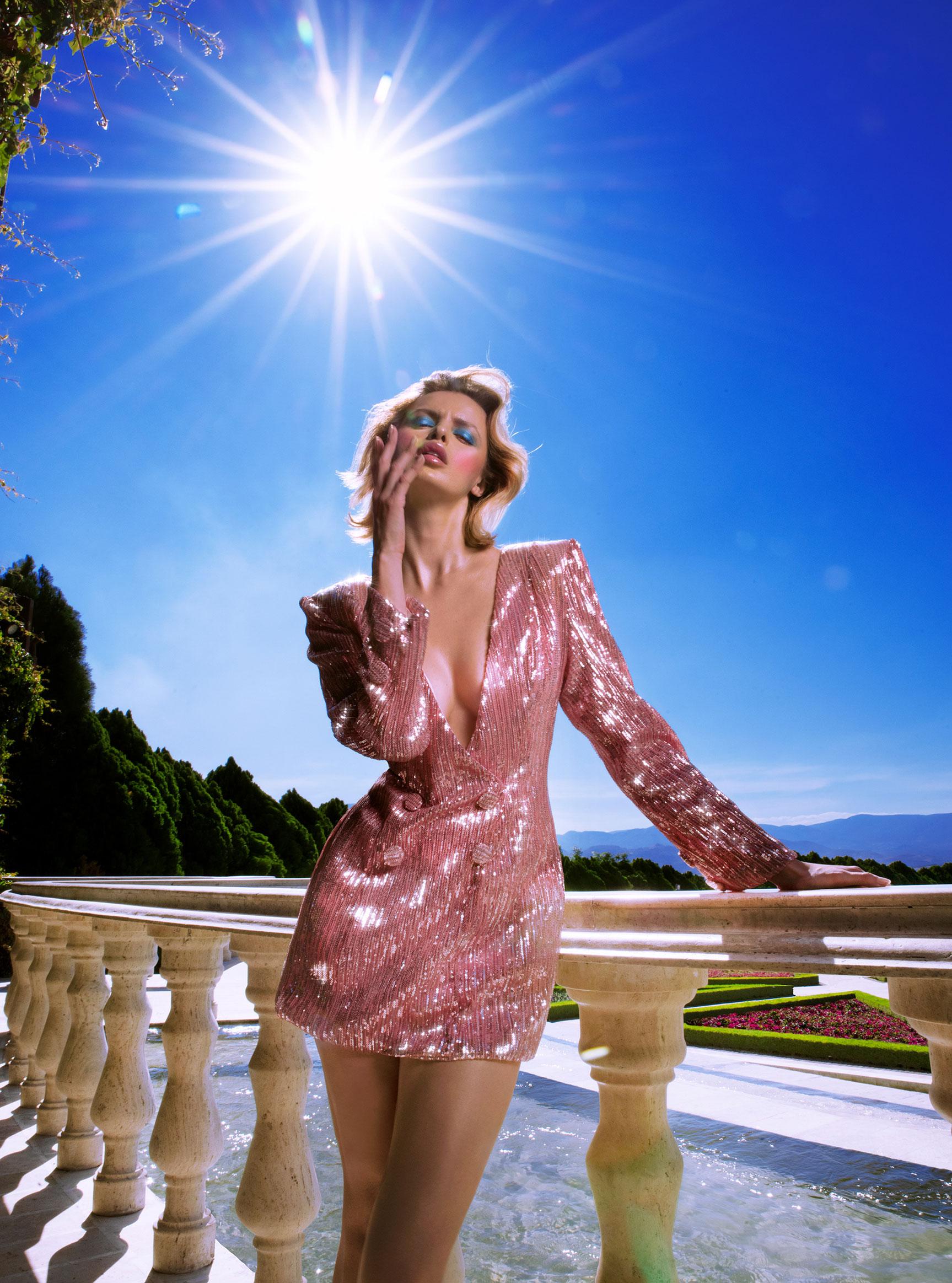 Три грации в рекламной кампании модной одежды Edher Gin, сезон весна-лето 2020 / фото 06