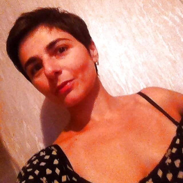 Short hair nude selfies-4095