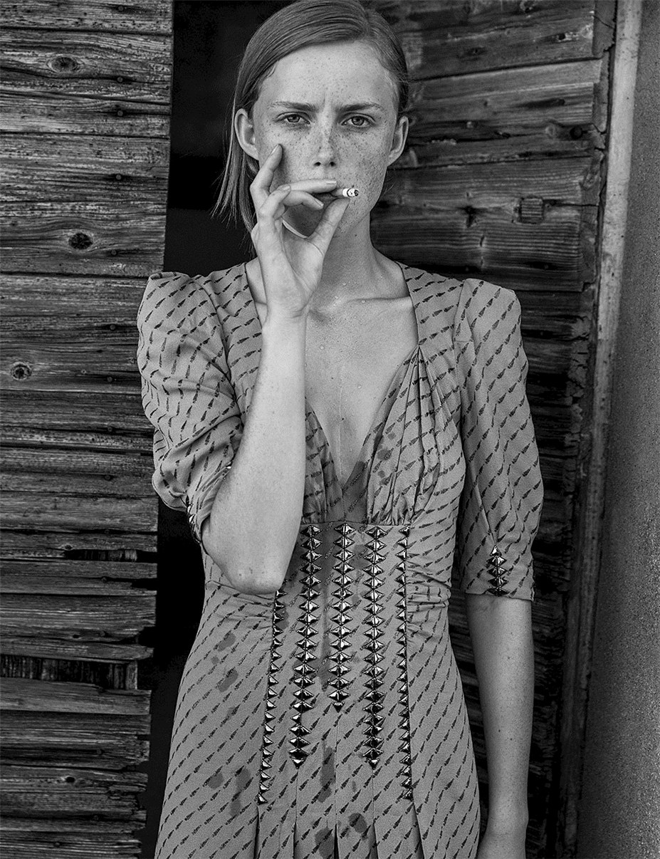 Rianne Van Rompaey by Mikael Jansson - Interview Magazine september 2017