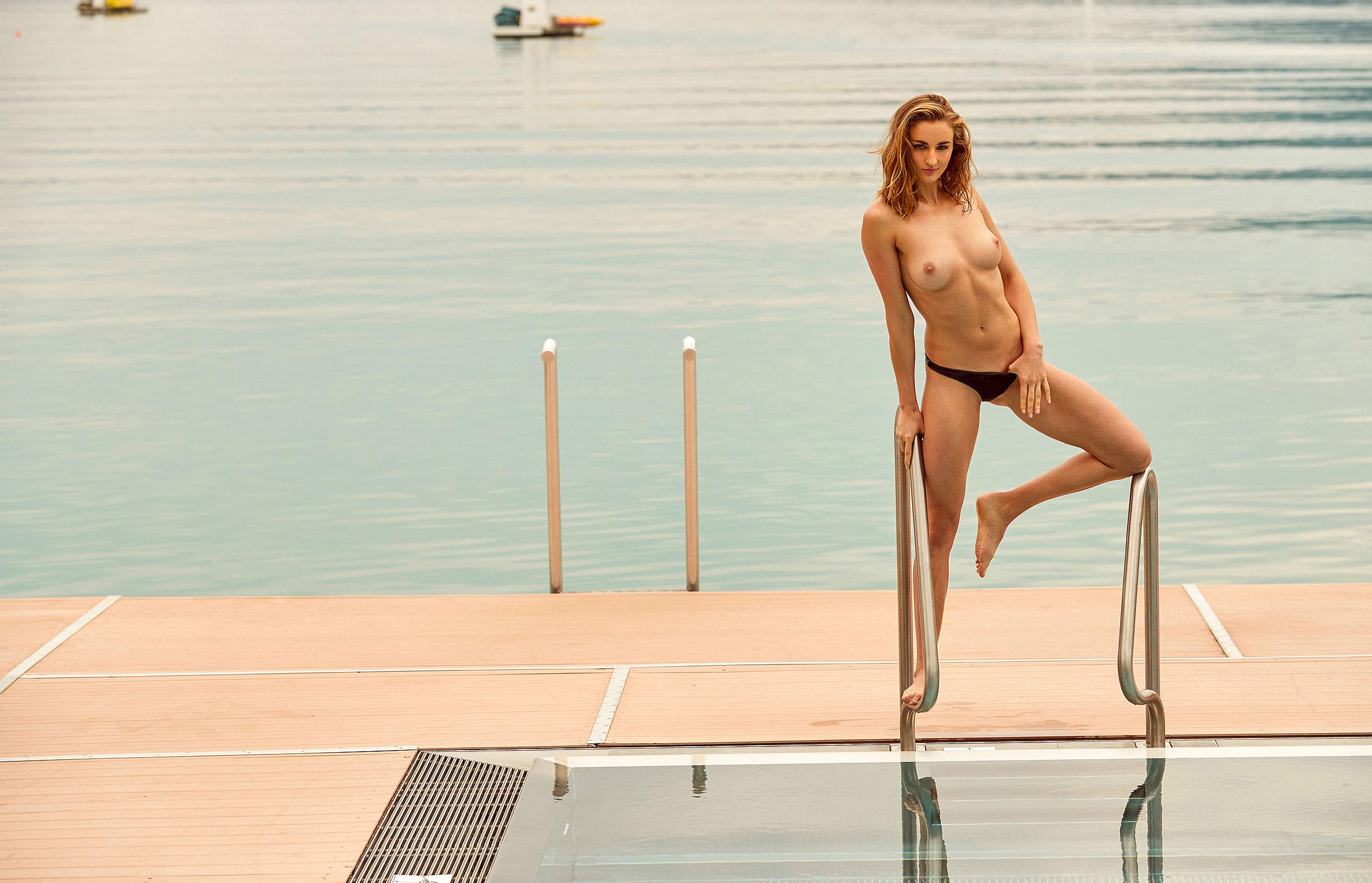 пловчиха Елена Кравцова в журнале Playboy Германия, октябрь 2020 / фото 09