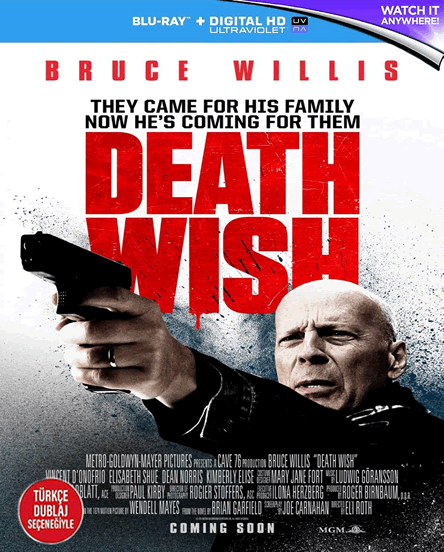 Death Wish - Öldürme Arzusu - 2018 - 1080p - TR/ENG