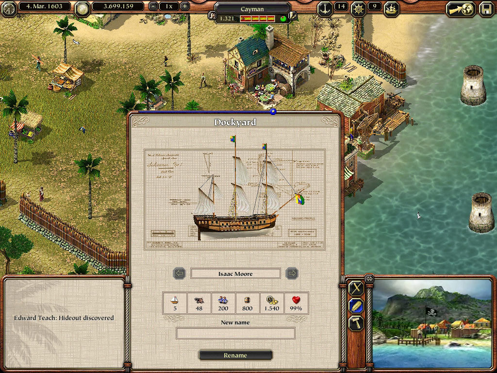 Port Royale 2 Captura 2