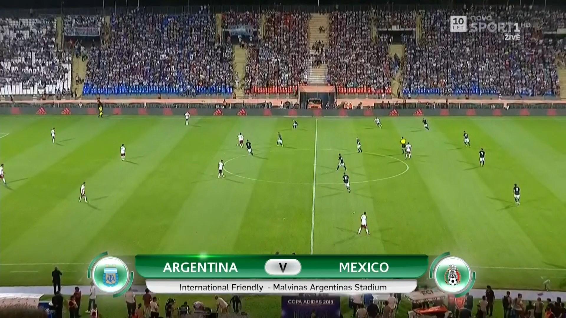 FUTBOL: International Friendly - Argentina vs  Mexico - 20