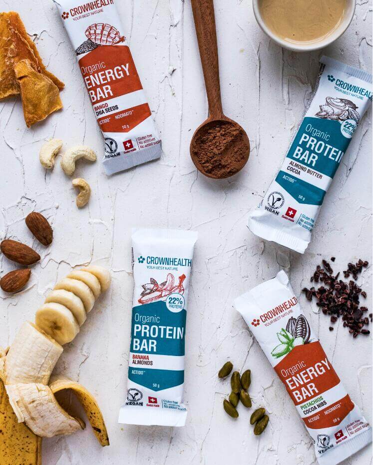 Crownhealth: A Redefinition of Vegan Sports Nutrition, Bars Now Bolster Health, Sustainability, and Performance All In One