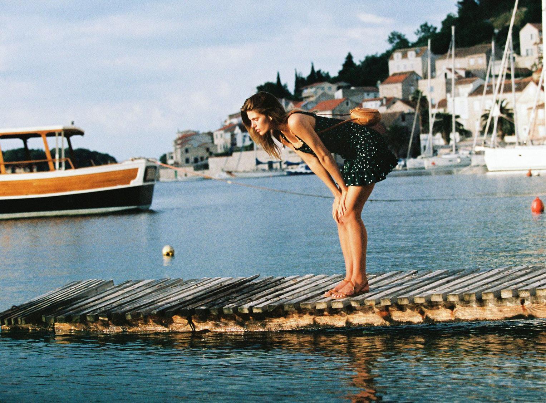 Отдыхаем на пляжах Хорватии с фотомоделью Мэдисон Хедрик / фото 24
