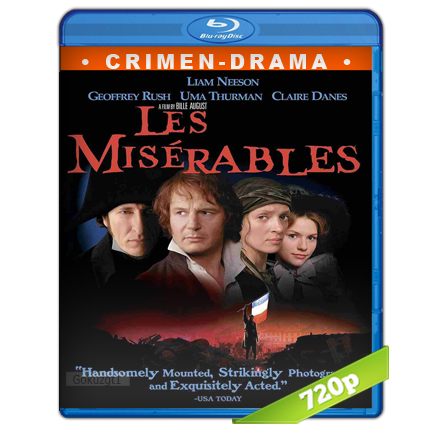 Los Miserables 720p Lat-Cast-Ing 5.1 (1998)