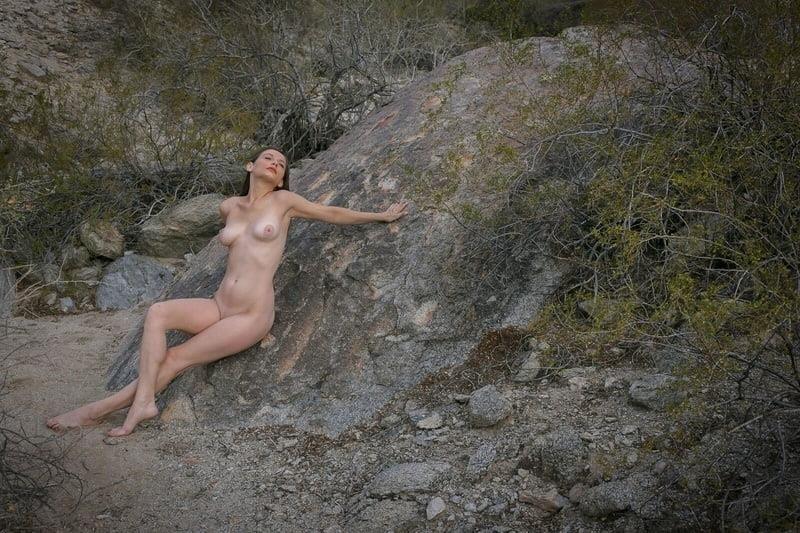 Nude black female models-6750