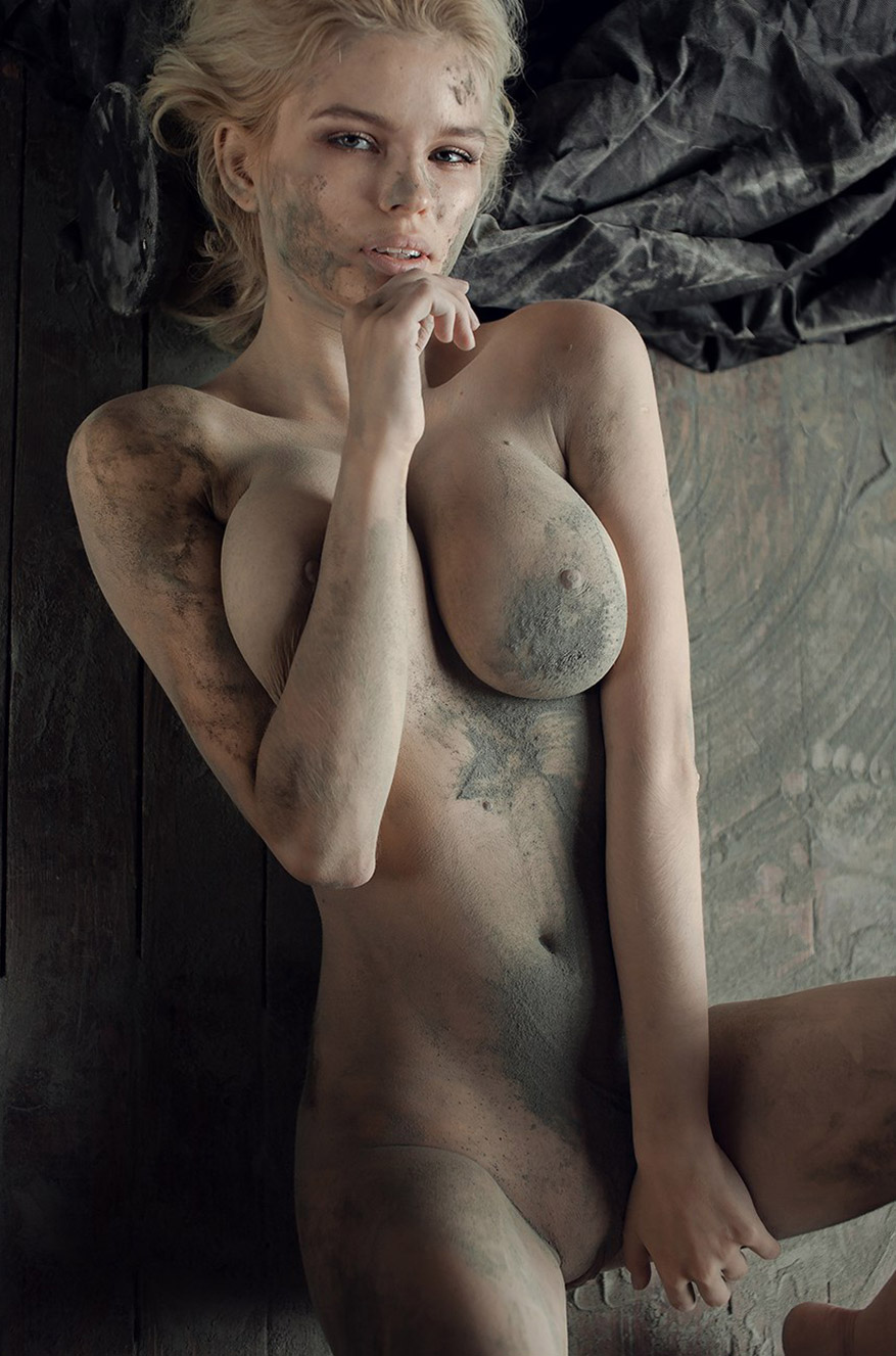Юлия Логачева / Julia Logacheva nude and dirty by Zhak Mea