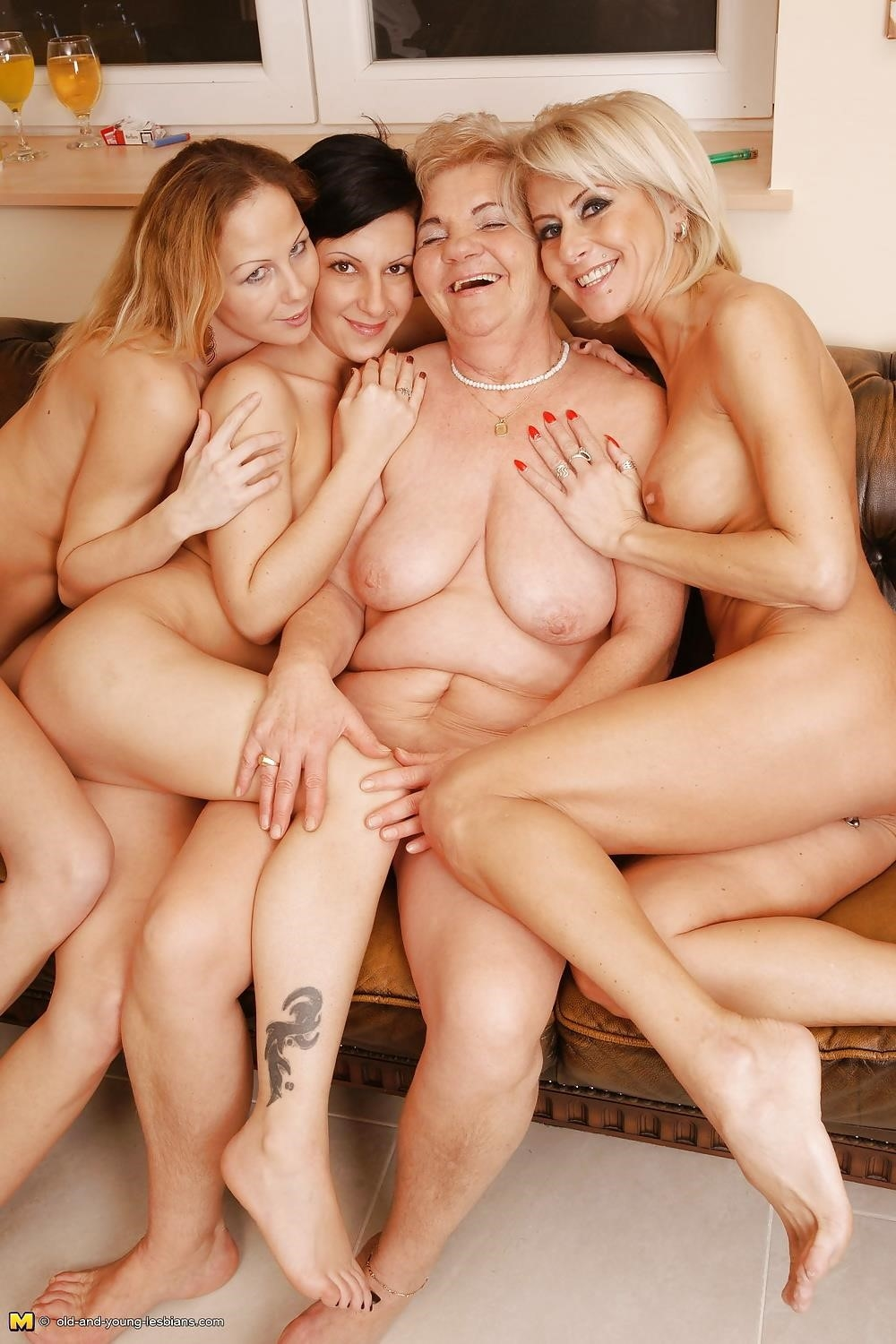Group sex with old women-7383