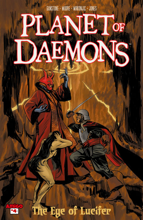 Planet of Daemons - The Eye of Lucifer #1-4 (2016-2017) Complete