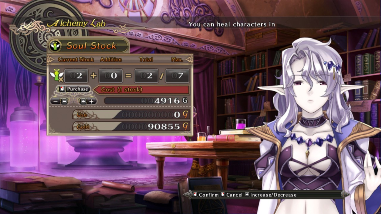 Agarest: Generations of War 2 Captura 3