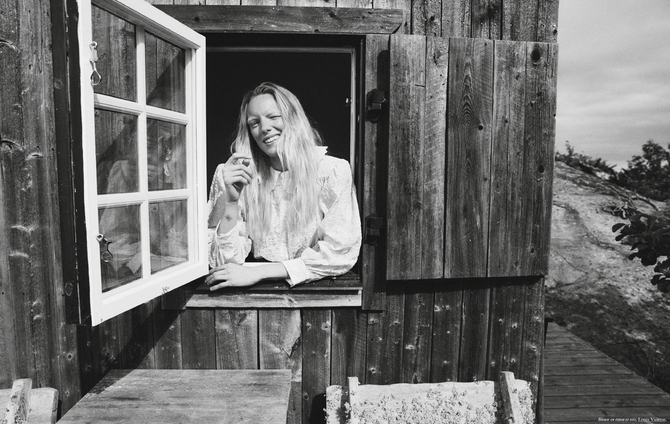 Бразильская модель в гостях у шведской - Эрика Линдер и Ракель Циммерман / фото 07