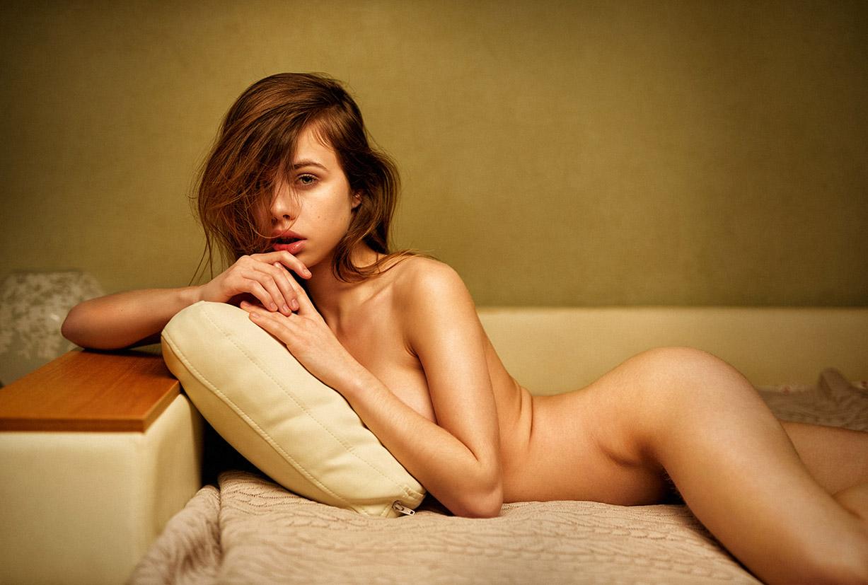 Александра Смелова / Alexandra Smelova nude by Alina Lebedeva