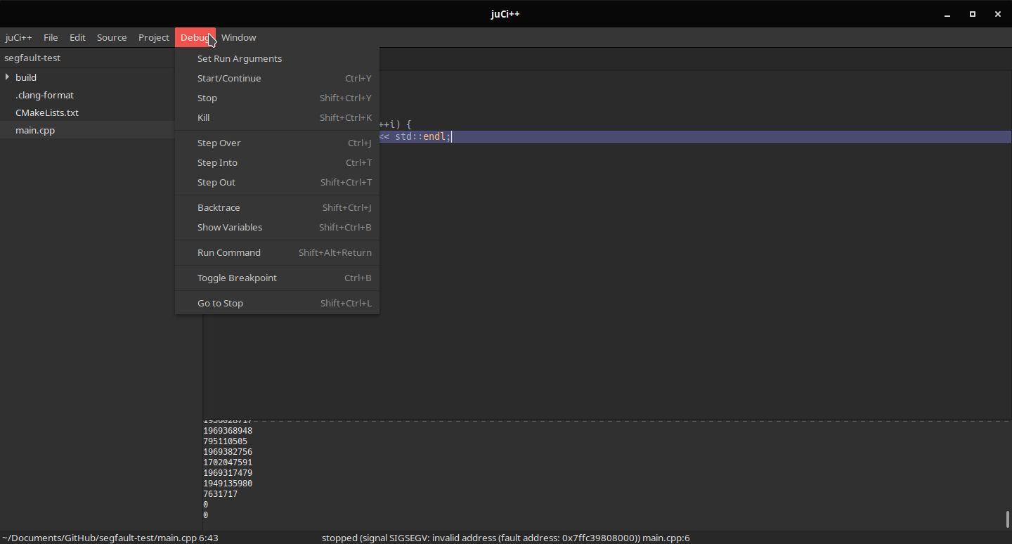 juCi++ is a pretty nice IDE : cpp