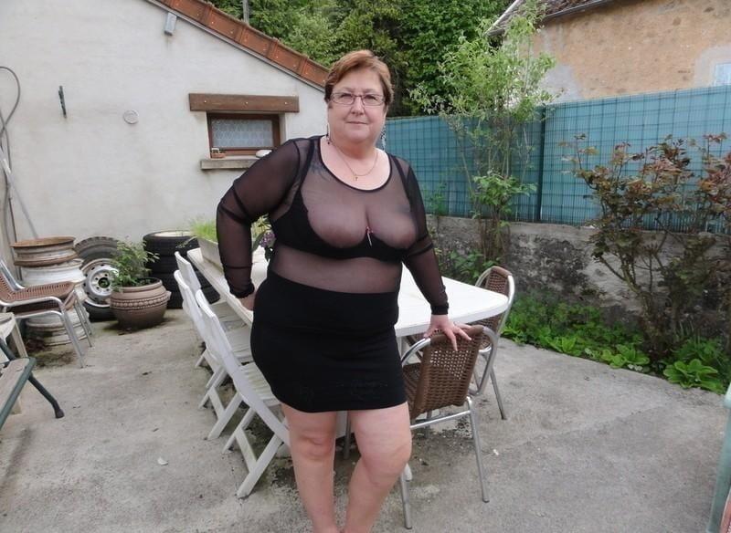 Chubby granny boobs-6147