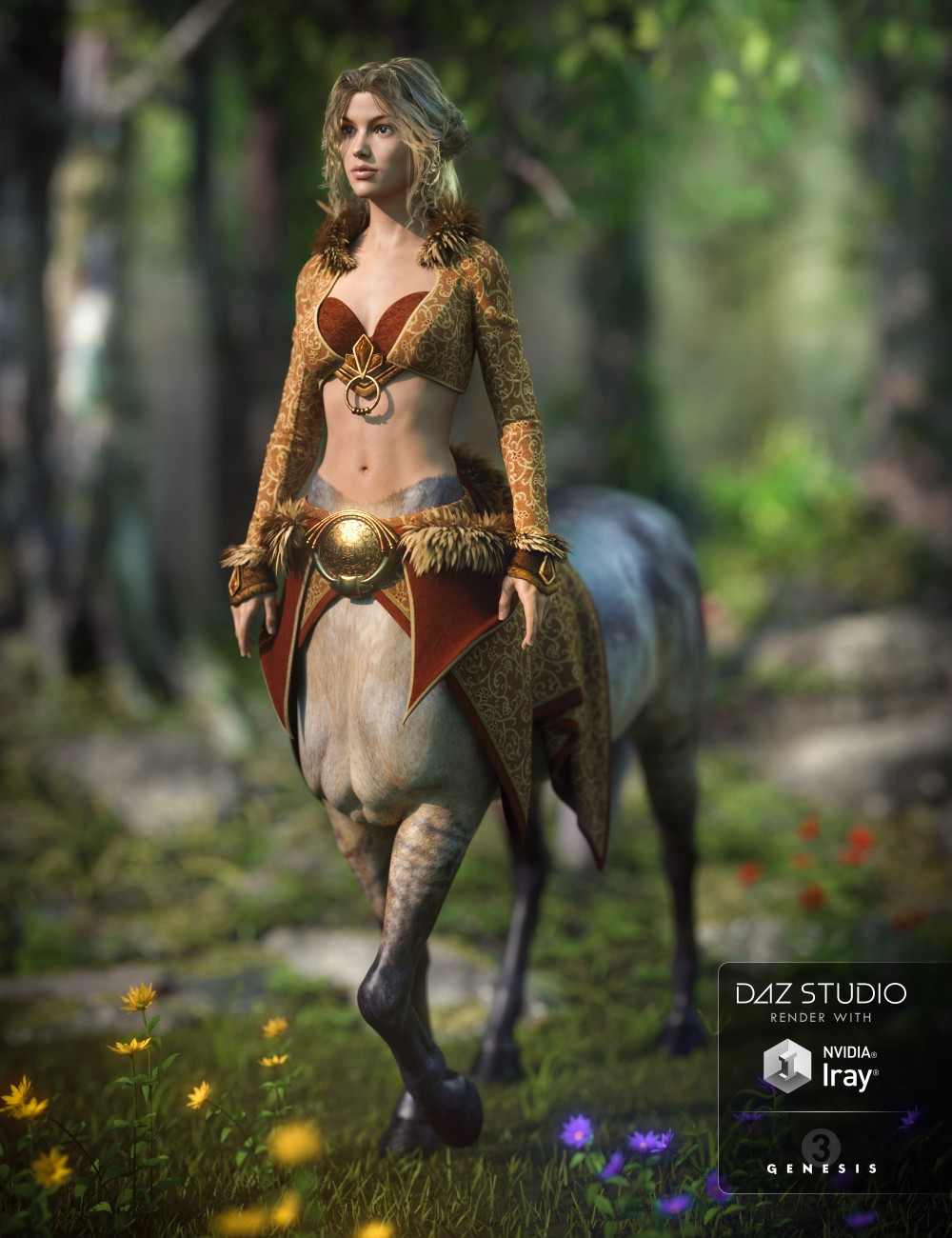 Mythos Outfit for Centaur 7 Female